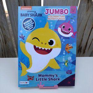 Pink Fong Baby Shark Coloring & Activity Kid Book